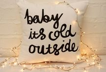 baby it's cold outside / wintery ideas