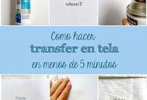 transfer a tela
