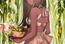 Exotic manga characters