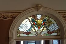 Stained and Fused Glass Windows and  Panels for Private or Public Interior / stained glass