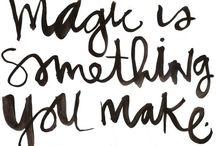 One little word 2015 : MAGIC