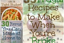 Saving money / Tips for moneysaving