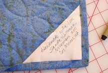 quilt label ideas