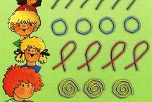 písanie preschool
