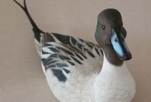 decoys and wood carvings / by Ron Moyers