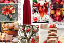 Apple Wedding Ideas / Apple, orchard, and cider mill themed wedding, bridal shower, party, and other special event inspiration.