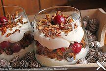 Desserts weihnachten