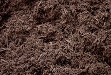 Types of Mulch & Bark / We manufacture & color our mulch and bark on-site