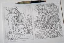 illustration sketches