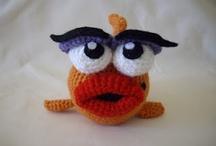 Crochet - Seamonsters (some fabric) / by Wendy Van de Wege