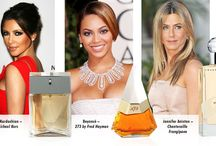 Celebrities and parfumes