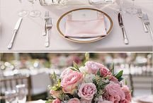 Table Settings / Get inspired by our table settings board for your centerpiece and china decisions.