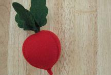 felt foods - radish