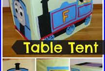 Trein tafeltent / Treinen