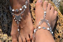 украшения на ногу