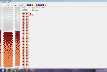 Wzory bead crochet - moje / #bead #crochete #patterns