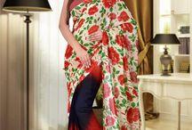 Sarees / Shop for the range of designer sarees, silk sarees, cotton sarees, lehenga sarees and more.