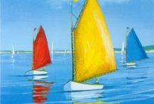 Segelboote malen