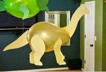 Dinosaurus feestje