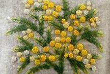 Brodera Vildblommor / Embroidery Wild flowers