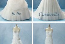 wedding dress / dress