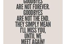 goodbye  ideas