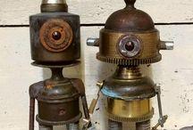 Robot e sculture varie
