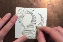 Zentangle starters videos