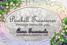 Pawhill Treasures.Etsy.com / My second Etsy-shop for vintage items.