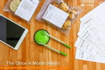 Monthly Freezer Meals Inspiration Board