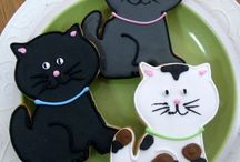 Cookies in the shape of a animal