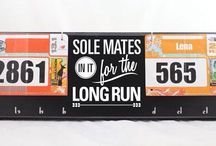 Couples Bib/Medal Display / by Strut Your Stuff Sign Co