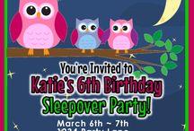 Ava's Nite Owl Slumber Party