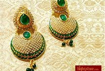 Pearl Earrings / Pearls and Stones to Charm Up Your Look  http://www.high5store.com/store/LalsoLifestyle