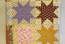 Mid 19th Century - Quilt blocks / These are patterns that originated at or before the Civil War Era. These are not necessarily the date of that quilt unless museum pieces that say such. / by Rondi Anderson