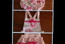 Children's clothes / New style vintage playsuits for sale. Sizes 00 - 2 $35. Order via website www.beanieboo.com.au
