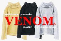 Venom® (antithesis. ) AW 15 collection. / http://blog.raddlounge.com/?p=42226