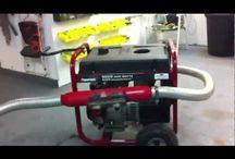 Generator silencer