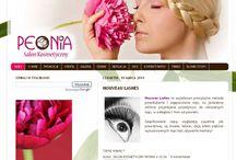 Strony WWW / strony www zaprojektowane przeze mnie