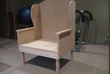 make do chair..or should I say honey do??lol / by Lisa Allen