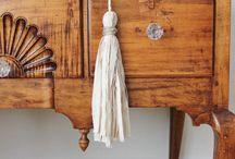 Tassels / Natural fiber decorative tassels