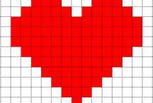 Sydän kuvio