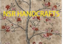 Chinoiserie wallpaper samples as framed picture / As a strong support to interior designer and our cooperators,  NSR HANDCRAFTS is offering a collection of Chinoiserie wallpaper samples on various wallpaper materials, This is an extraordinary opportunity to purchase high quality artwork for such a low price. Available only for a limited time.