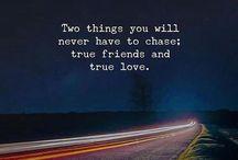 true friends and true love
