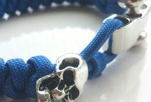 Skull Paracord Bracelet / Schmuck