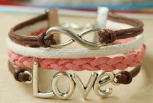 Love / Anchor / Inifinity Bracelets