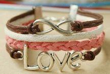 Love / Anchor / Inifinity Bracelets