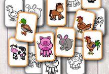 Printable fc farm animals