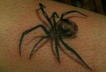 tattoo  araignée