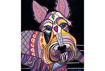 Art dog.